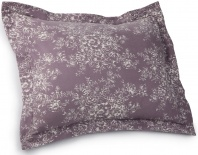 Pinzon 160gm Printed Cotton Flannel Sham, Standard