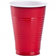 Party Dimensions 20 Count Plastic Cups, 12-Ounce