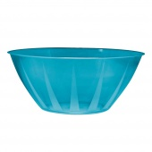 NorthWest Enterprises Party Essentials Heavy Duty Brights Plastic Large Bowl, 160-Ounce Capacity,,  �������
