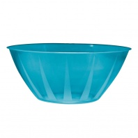 NorthWest Enterprises Party Essentials Heavy Duty Brights Plastic Large Bowl, 160-Ounce Capacity,